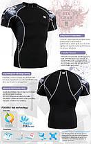 Компрессионная футболка рашгард Fixgear C2S-B18, фото 3