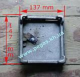 Дверка чугунная печная сажетруска (150х160 мм) сажечистка, люк для золы, фото 3