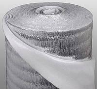 Полотно Teploizol(M) ламинированное металлизированной пленкой с одной стороны(радиаторное) 50см*2мм*25м