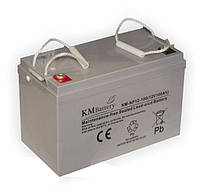 Мультигелевый (AGM) аккумулятор KM Battery 12В 100Ач