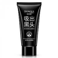 Черная маска для лица Bioaqua Activated Carbon