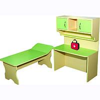 Больница Детская 1000х530х500 мм (кровать+стол)