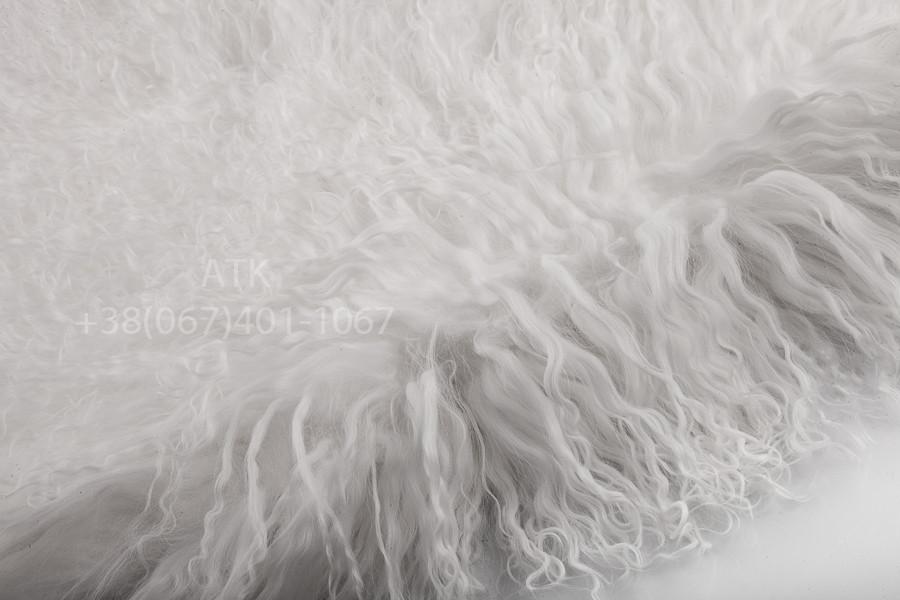 Мех ламы белый
