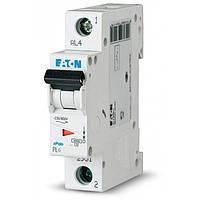 Автоматический выключатель PL6 C 1P 6А (286530) Eaton