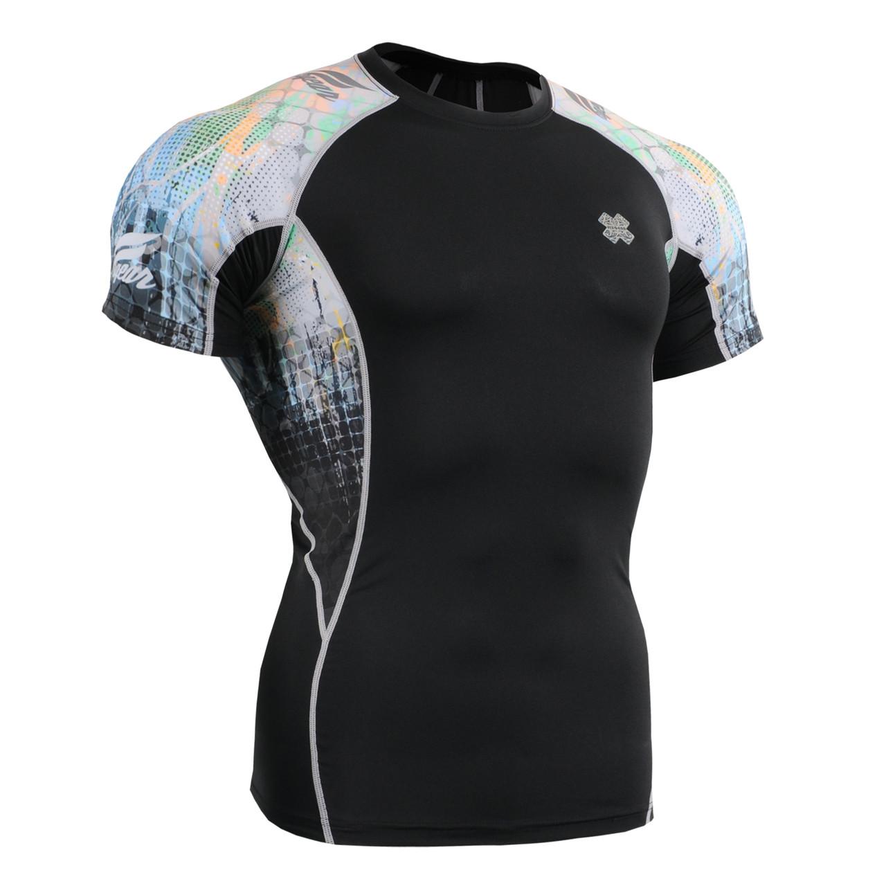 Компресійна футболка рашгард Fixgear C2S-B42
