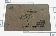 Коврик придверный  зонтик 80 х 50