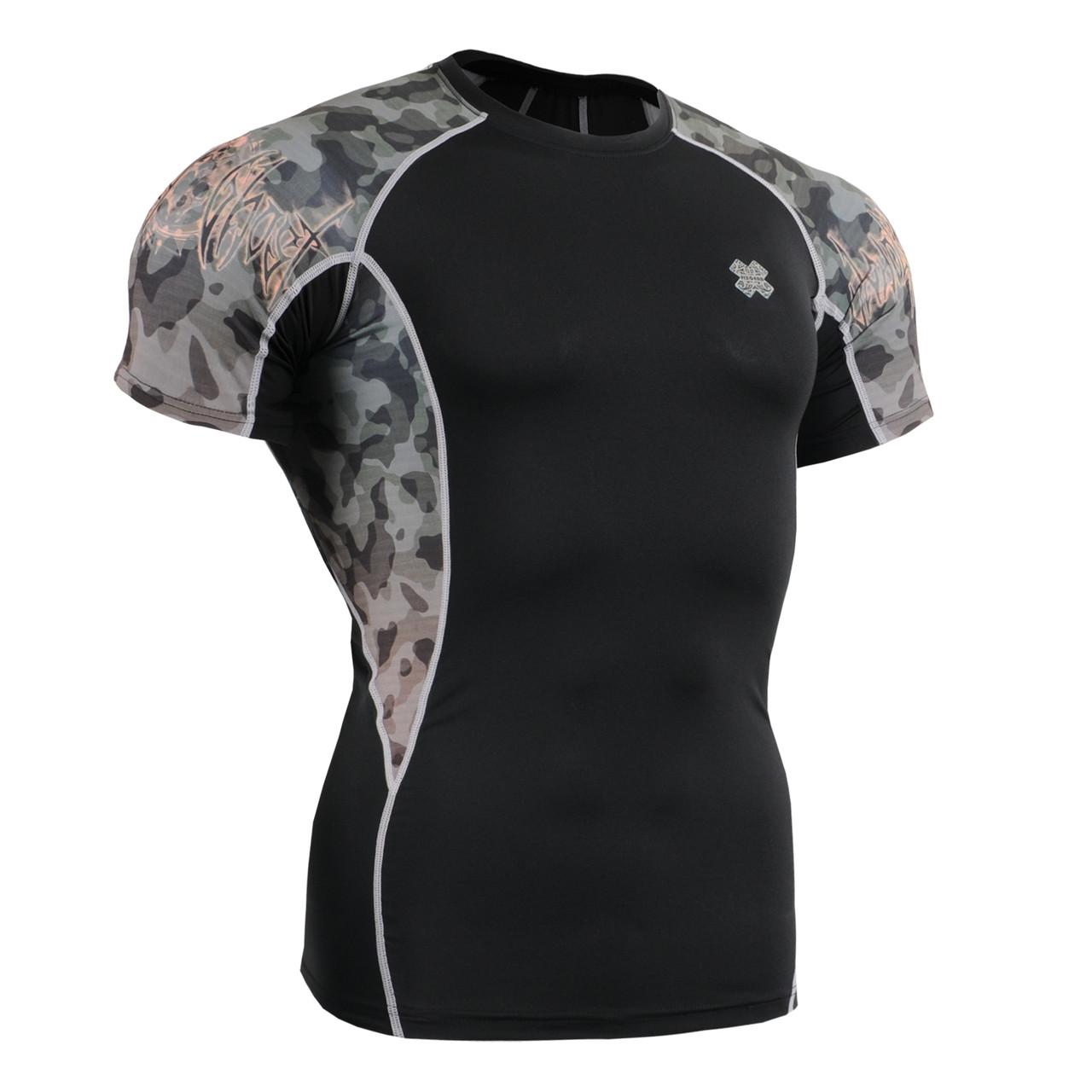 Компрессионная футболка рашгард Fixgear C2S-B45