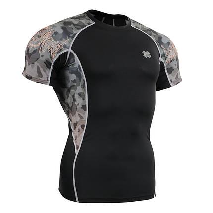 Компрессионная футболка рашгард Fixgear C2S-B45, фото 2