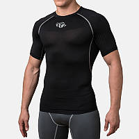 Компрессионная футболка Peresvit Air Motion Compression Short Sleeve T-Shirt Black Grey