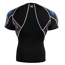 Компрессионная футболка рашгард Fixgear C2S-B46, фото 2