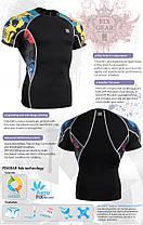 Компрессионная футболка рашгард Fixgear C2S-B46, фото 3