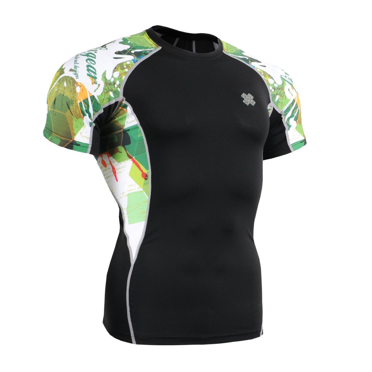 Компрессионная футболка рашгард Fixgear C2S-B47