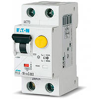 Дифференциальный автомат PFL6-10/1N/C/003 (286465) Eaton