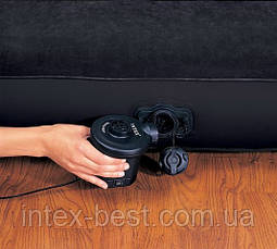 Intex 67972 - двуспальная надувная кровать  241x193x76см, фото 3