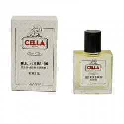 Масло для бороды Cella с маслом Аргана и Витамином Е
