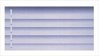Жалюзи горизонтальные 25 мм аметис (263) на струне