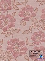 Рулонные шторы Камелия розовая
