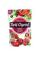 Фруктовый чай Twoj Ogrod со вкусом вишни, клюквы и граната, 40 пакетиков