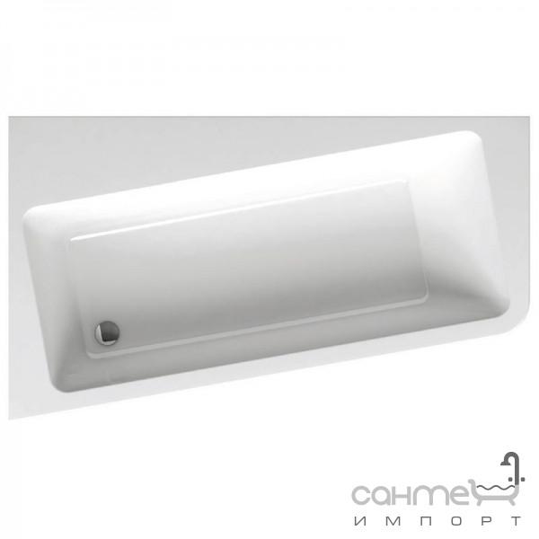 Ванны Ravak Асимметричная акриловая ванна Ravak 10 Degree 160x95 левосторонняя C831000000 белый