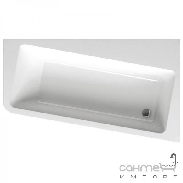 Ванны Ravak Асимметричная акриловая ванна Ravak 10 Degree 160x95 правосторонняя C841000000 белый