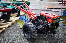 Мотоблок Булат ВТ1010Е (дизель 10,5 л.с.водяное охлажд.+электростартер), фото 3