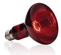 Лампа инфракрасная Lemanso 250W E27 230V полностью красная / LM225