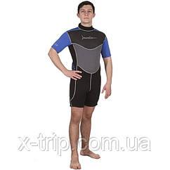 Короткий гидрокостюм для теплой воды Marlin Tropic Shorty 3 мм