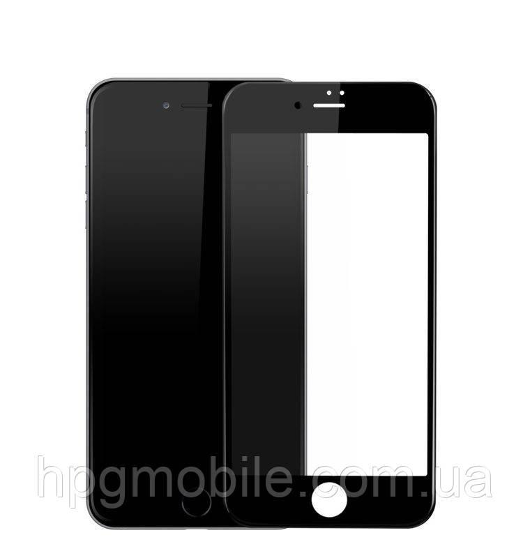 Защитное стекло 3D для iPhone 7 - HPG Tempered Glass 3D Full Screen 0.3 mm / 9H, черный