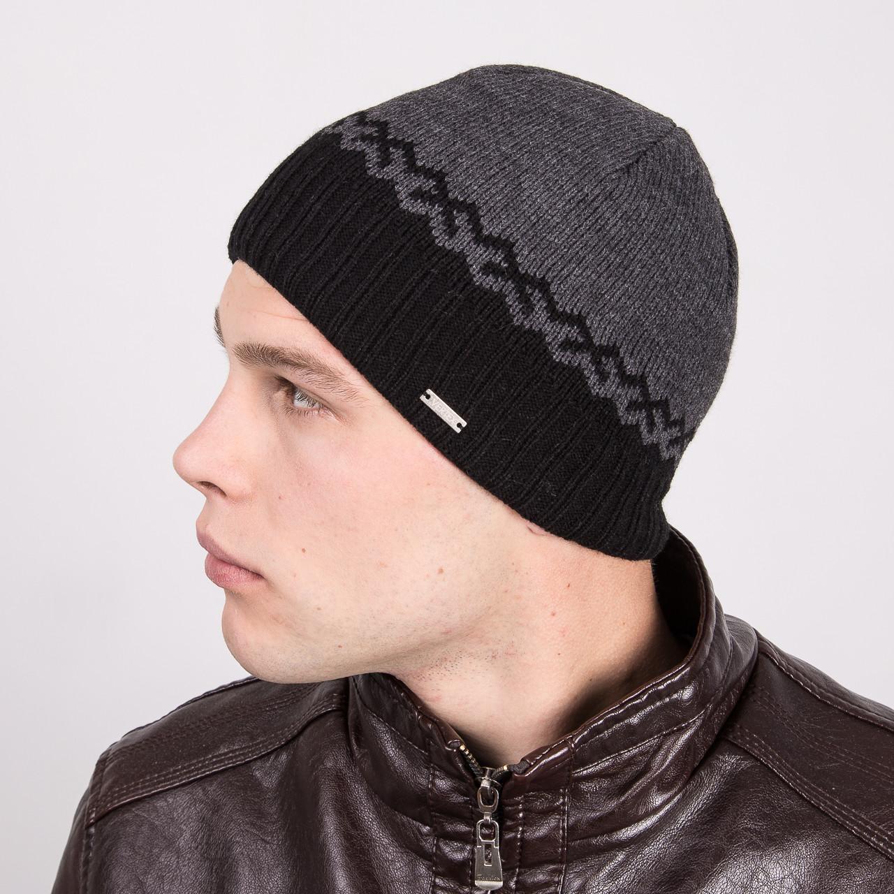 Мужская шапка на флисе - Артикул m10a