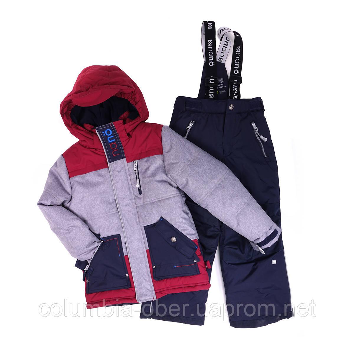 Зимний костюм для мальчика NANO 269 M F16. Размеры  2 - 3Х.