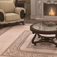 Arte inn carpet, marble brown, marble beige