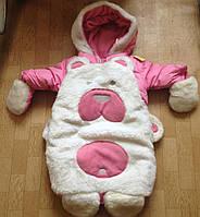 """Детский зимний комбинезон """"Мишка"""" для новорожденных."""