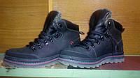 Зимние ботинки мужские натуральная кожа и мех