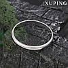 Кольцо обручальное 11346 размер 17, ширина 3 мм, позолота Белое Золото
