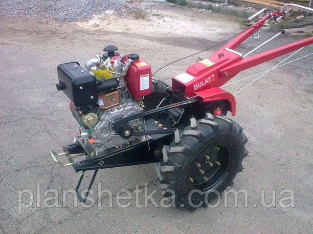 Мотоблок Булат ВТ1212Е (дизель 12 л.с. воздушное охл., электростартер)