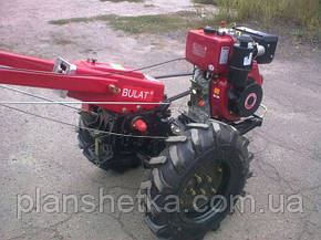 Мотоблок Булат ВТ1212Е (дизель 12 л.с. воздушное охл., электростартер), фото 2