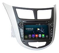 Штатная магнитола для Hyundai Accent 2011+ андроид