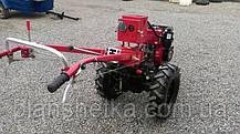 Мотоблок гибрид Булат WM 6Е (дизель воздушного охлаждения 6 л.с., электростартер), фото 3