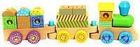Детский конструктор Поезд Viga Toys 50572B
