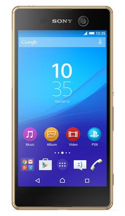 Смартфон Sony E5633 Xperia M5 DS Gold, фото 2