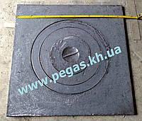 Плита чугунная под казан 740х740 мм, фото 1