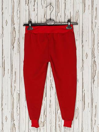 Штаны спортивные, красные, фото 2