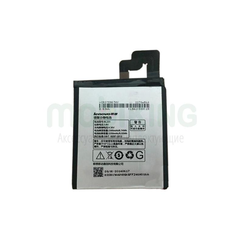 Оригинальная батарея Lenovo S90/Vibe X2 (BL-231) для мобильного телефона, аккумулятор для смартфона.
