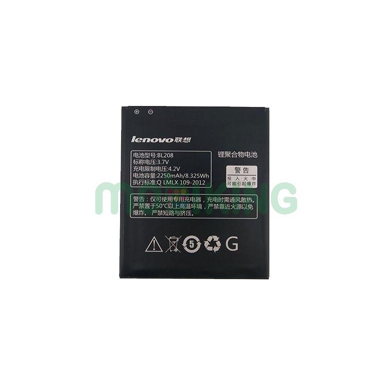 Оригинальная батарея Lenovo S920 (BL-208) для мобильного телефона, аккумулятор для смартфона.