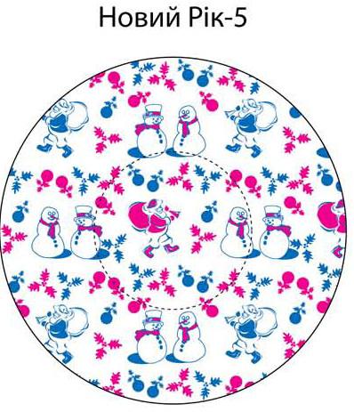 Форма/конфет орнамент Новый год№5 маленькие(код 02451)