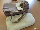 Переносна сумка - конверт на хутрі Marselle, фото 3