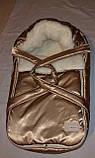 Переносна сумка - конверт на хутрі Marselle, фото 4
