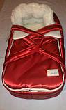 Переносна сумка - конверт на хутрі Marselle, фото 5