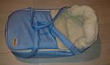 Переносна сумка - конверт на хутрі Marselle, фото 8