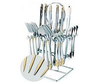 Набор столовых приборов 24 предмета на подставке Grace 395989626